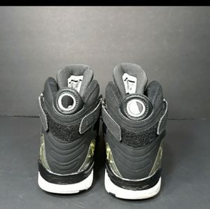 Jordan Shoes - Nike Air Jordan 8.0 Black Sneakers Sz 9